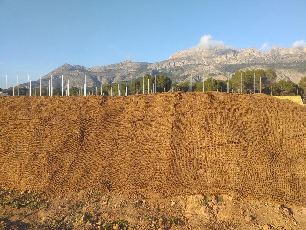 control erosion taludes altea